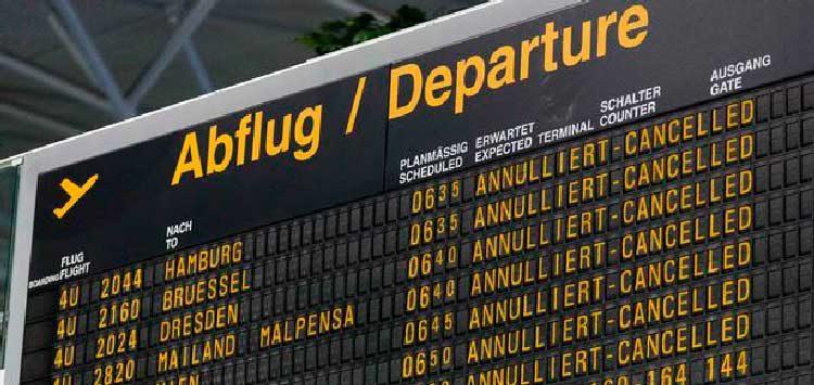 Образец оформления претензии к туроператору за задержку рейса